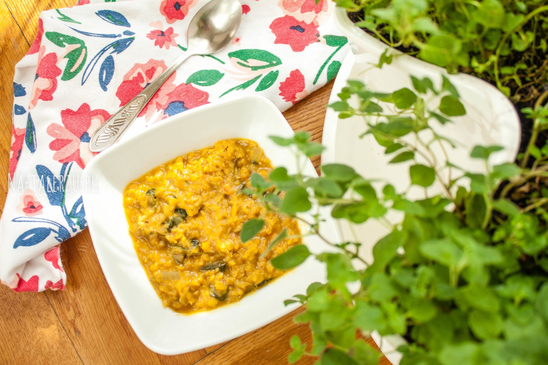 Złote curry z soczewicy
