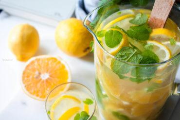 woda z pomarańczą