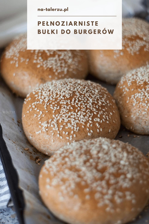 `pełnoziarniste bułki do burgerów