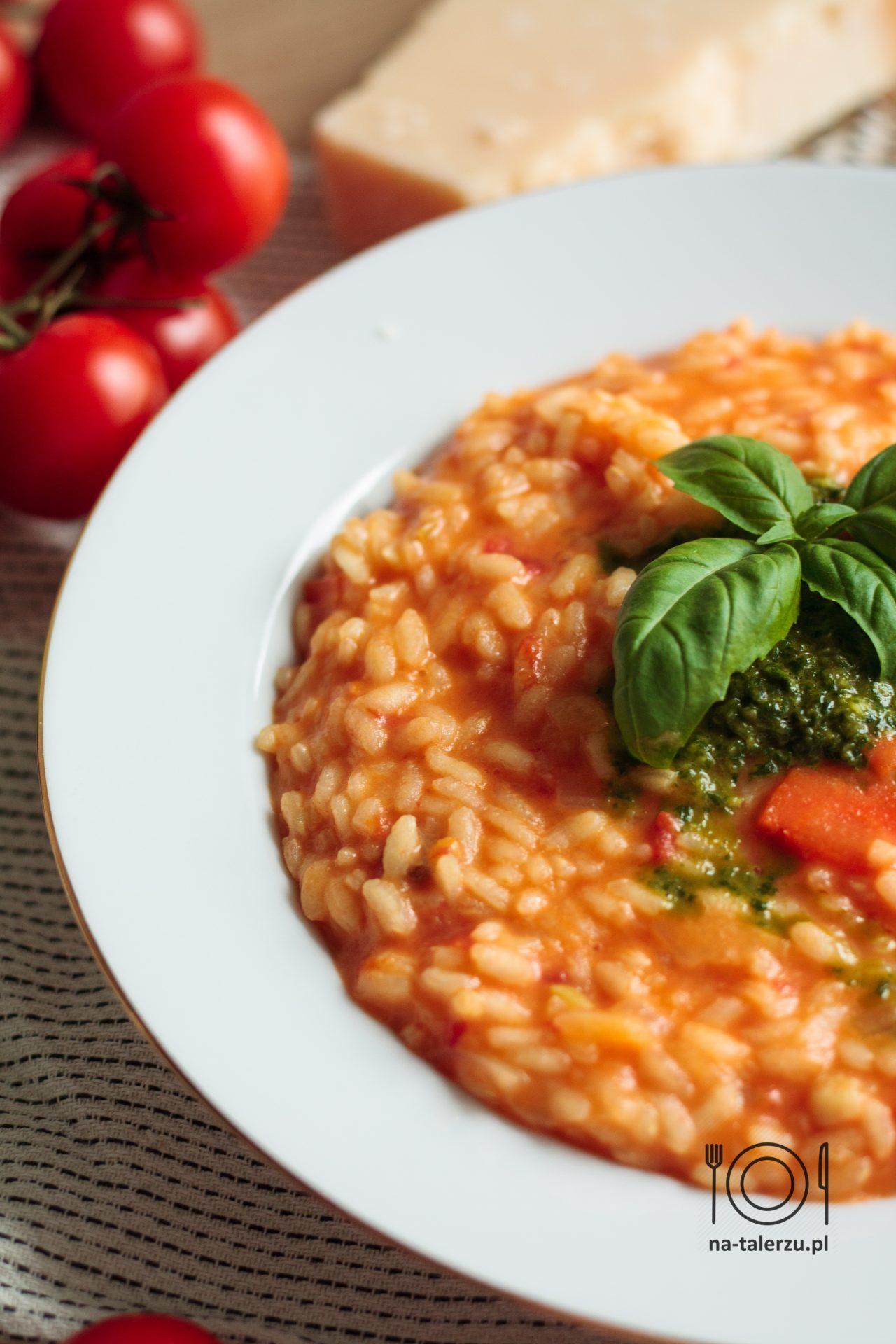 Pomidorowe risotto Jamiego Olivera
