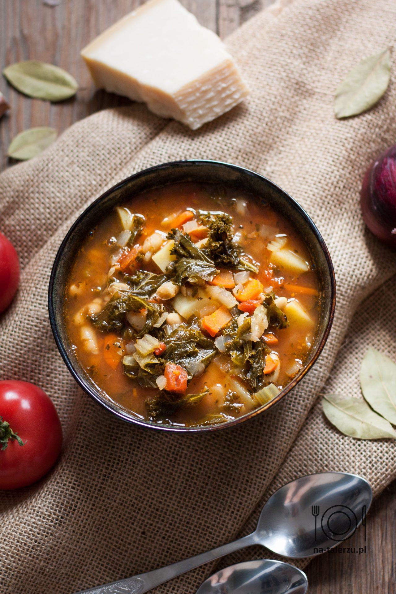 Minestrone - włoska zupa jarzynowa