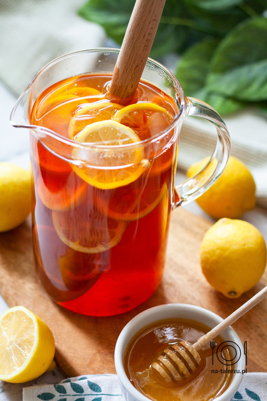 Ice tea mrożona herbata