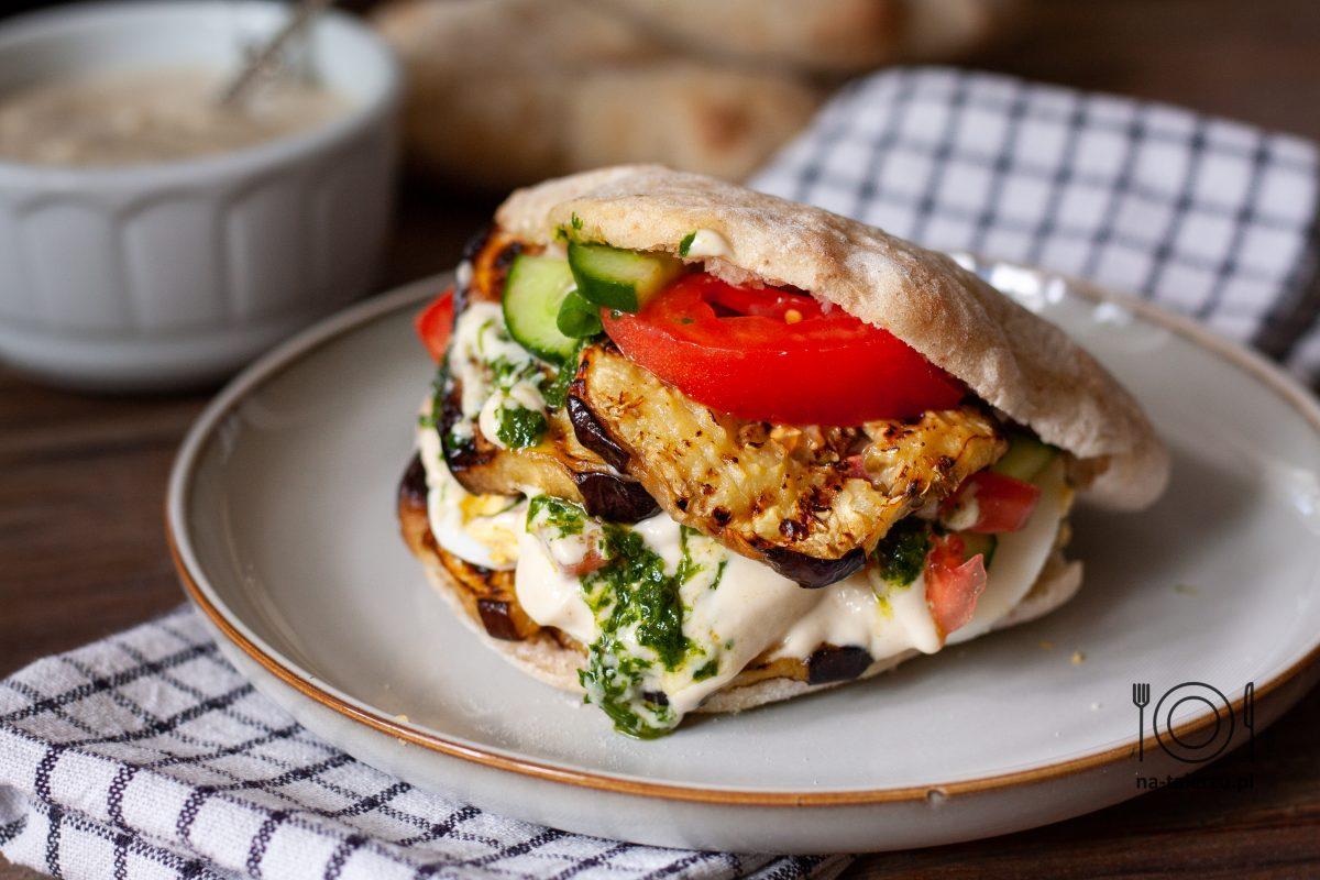 Sabich izraelski street food